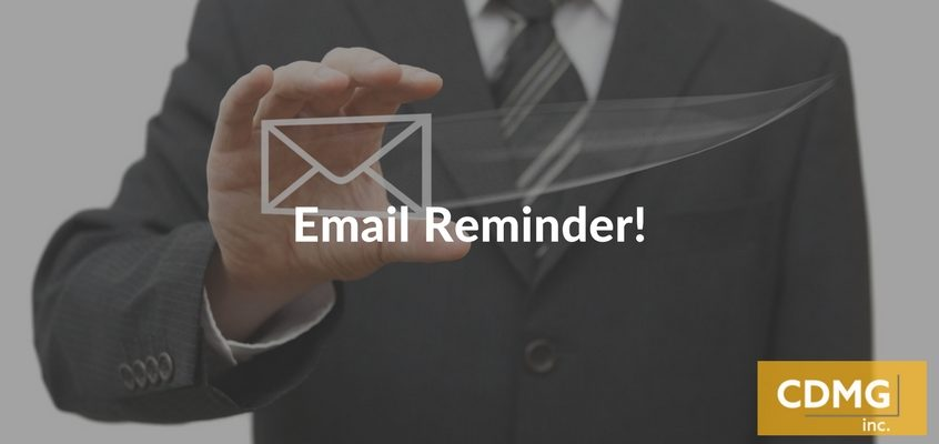 Email Reminder!