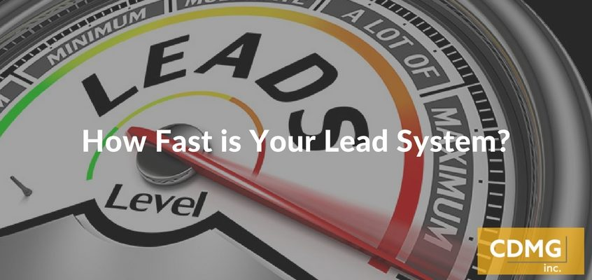 HowFastis Your Lead System?