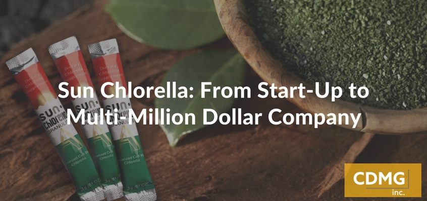 Sun Chlorella: From Start-Up to Multi-Million Dollar Company
