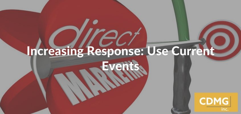 Increasing Response: Use Current Events