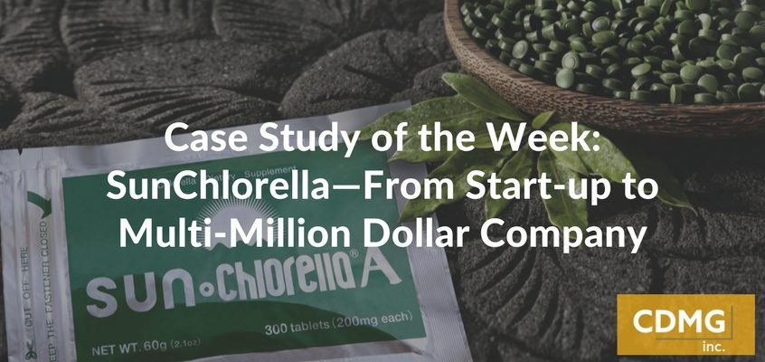 Case Study of the Week: SunChlorella—From Start-up to Multi-Million Dollar Company