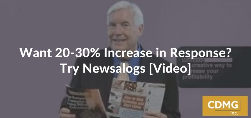 Want 20-30% Increase in Response? Try Newsalogs [Video]