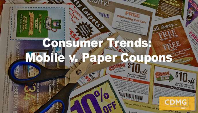 Consumer Trends: Mobile v. Paper Coupons