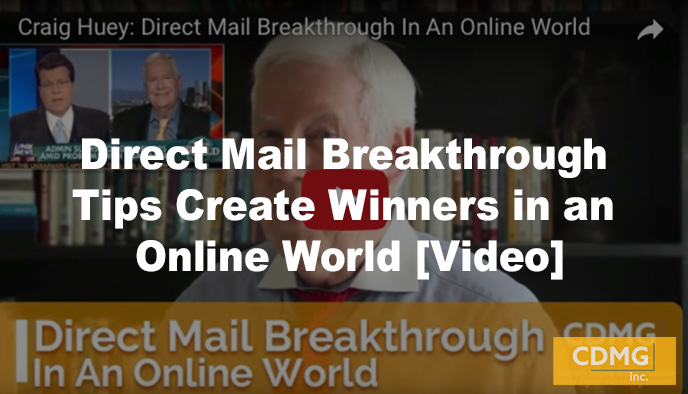 Direct Mail Breakthrough Tips Create Winners in an Online World [Video]
