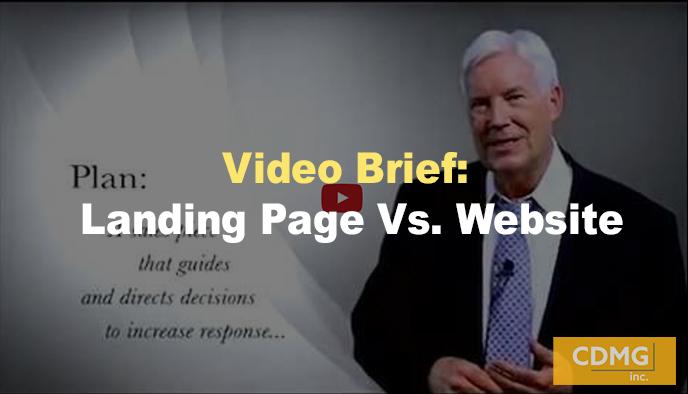 Video Brief: Landing Page Vs. Website