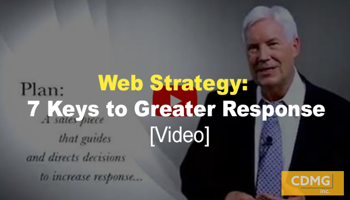 Web Strategy: 7 Keys to Greater Response [video]