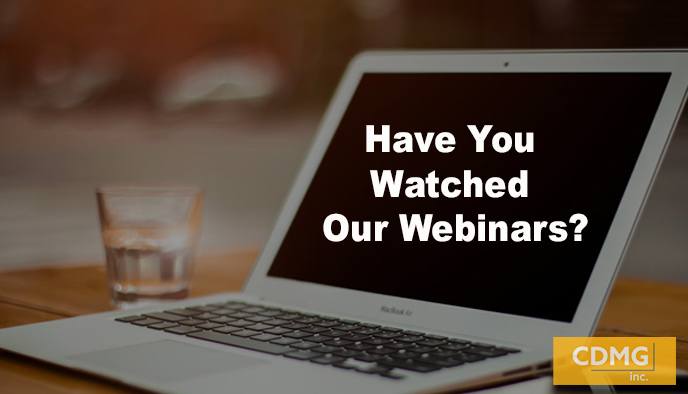 Have You Watched Our Webinars?