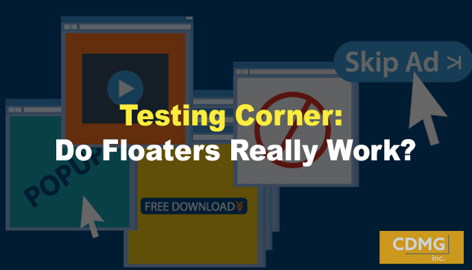 Testing Corner: Do Floaters Really Work?