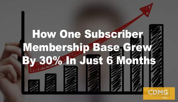 How One Subscriber Membership Base Grew By 30% In Just 6 Months