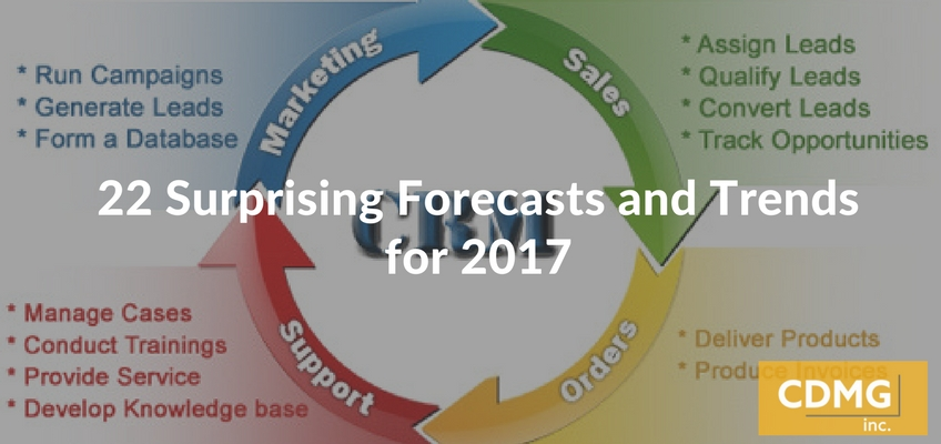 22 Surprising Forecasts and Trends for 2017
