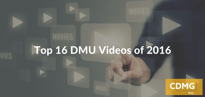 Top 16 DMU Videos of 2016