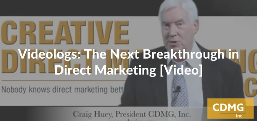 Videologs: The Next Breakthrough in Direct Marketing [Video]