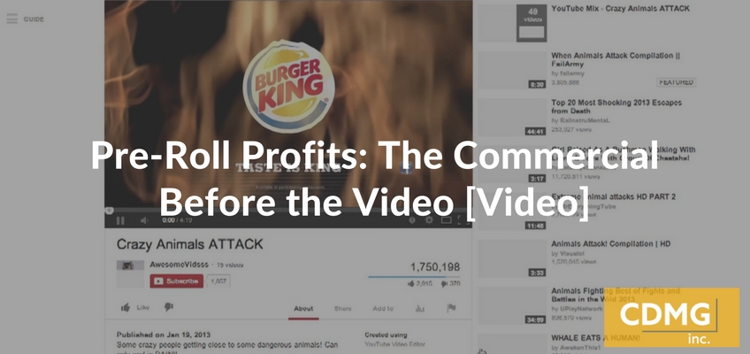 Pre-Roll Profits: The Commercial Before the Video [Video]