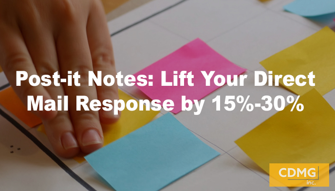 Post-it Notes: Lift Your Direct Mail Response by 15%-30%