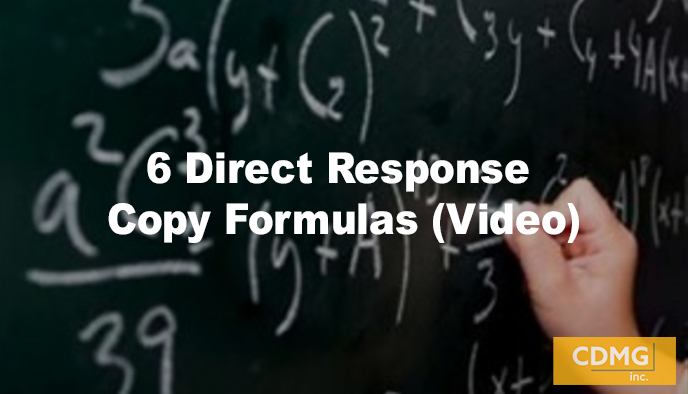 6 Direct Response Copy Formulas (Video)