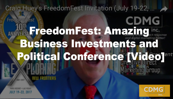 FreedomFest: Amazing Business Investments and Political Conference [Video]