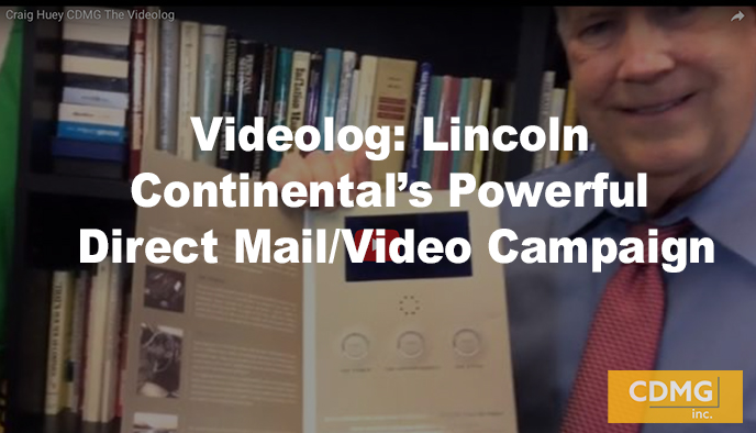 Videolog: Lincoln Continental's Powerful Direct Mail/Video Campaign