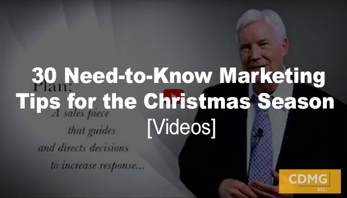31 Need-to-Know Marketing Tips for the Christmas Season [videos]