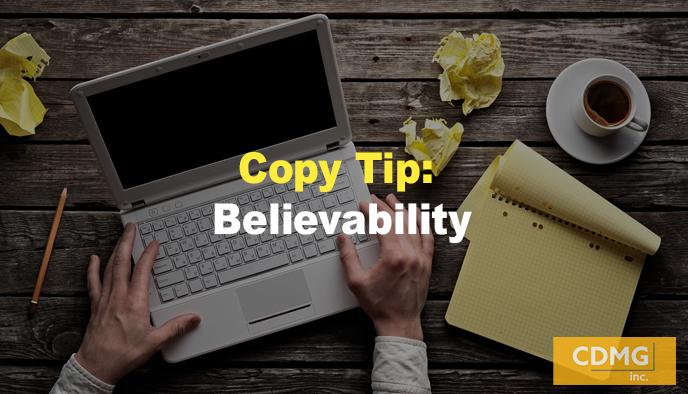 Copy Tip: Believability