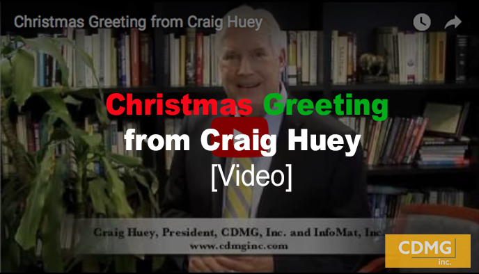 Christmas Greeting from Craig Huey [video]