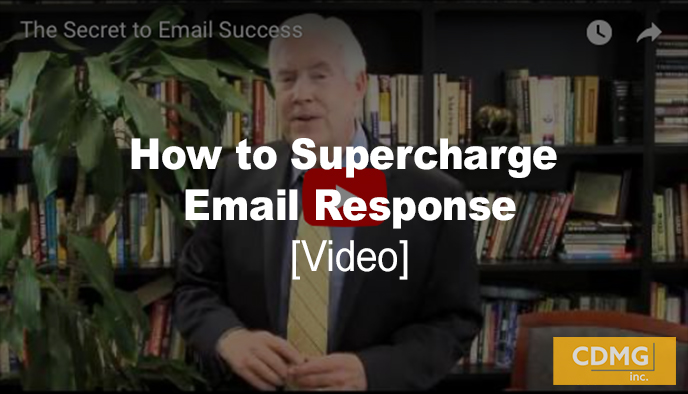 How to Supercharge Email Response [video]