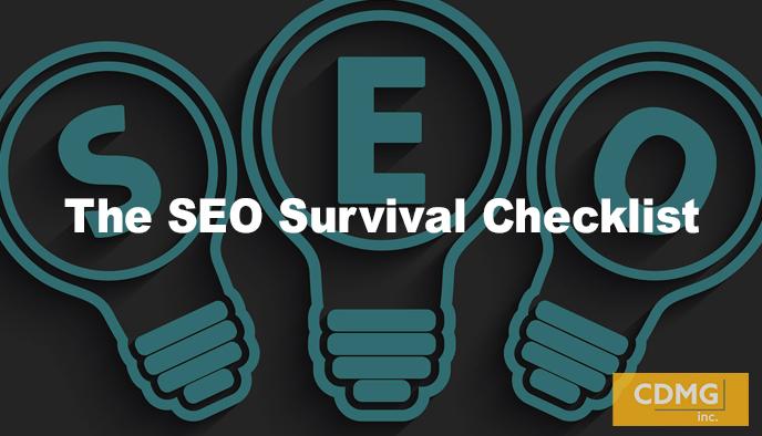 The SEO Survival Checklist