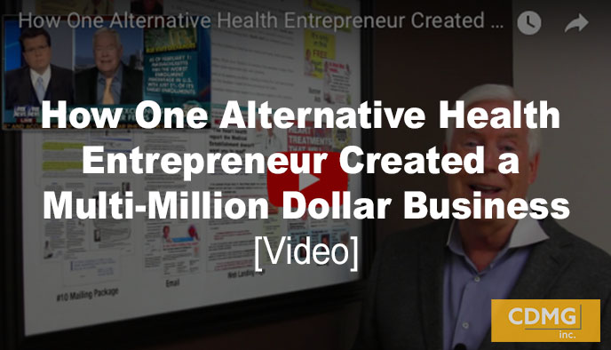 How One Alternative Health Entrepreneur Created a Multi-Million Dollar Business [video]