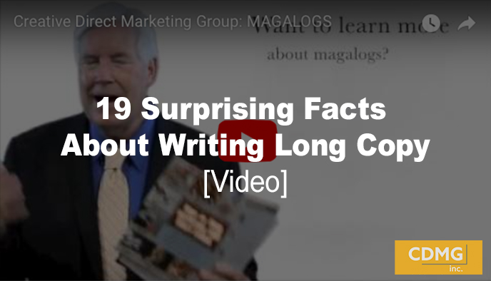 19 Surprising Facts About Writing Long Copy [video]
