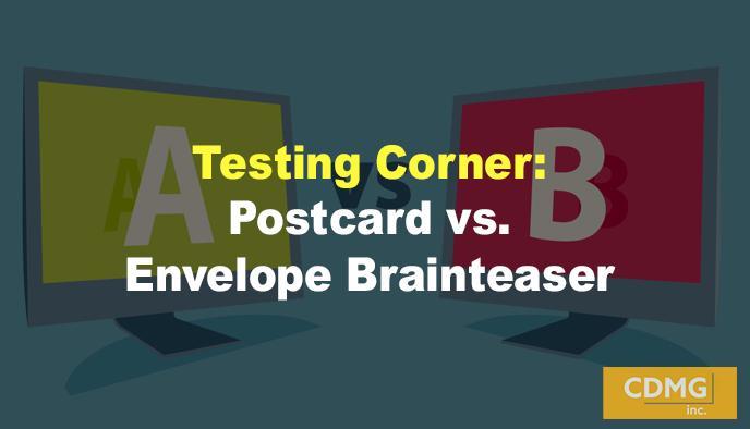 Testing Corner: Postcard vs. Envelope Brainteaser