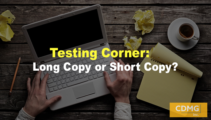 Testing Corner: Long Copy or Short Copy?
