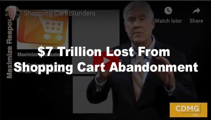 $7 Trillion Lost From Shopping Cart Abandonment [video]