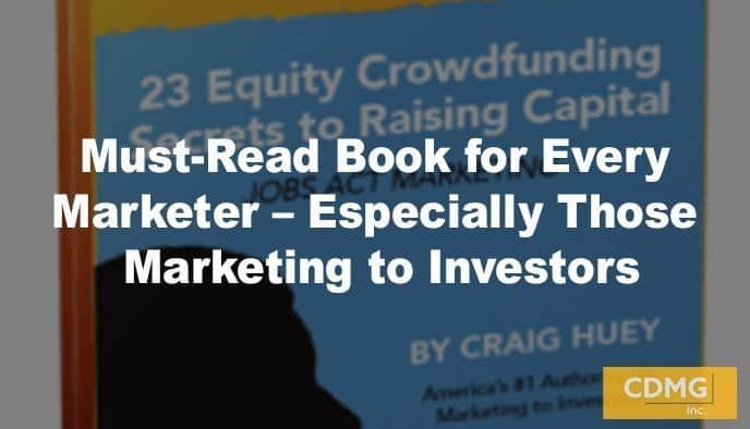 Must-Read Book for Every Marketer – Especially Those Marketing to Investors