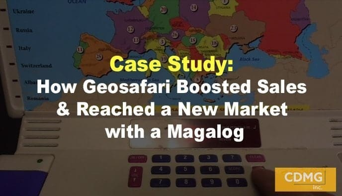 Case Study: How Geosafari Boosted Sales & Reached a New Market with a Magalog