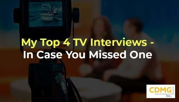 My Top 4 TV Interviews – In Case You Missed One