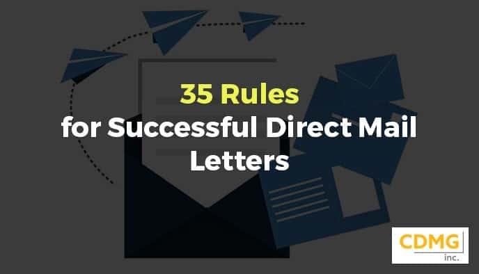 35 Rules for Successful Direct Mail Letters